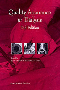 Quality Assurance in Dialysis (Developments in Nephrology)