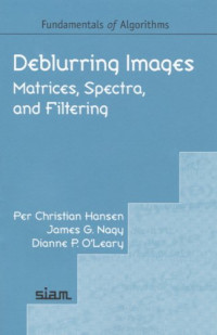 Deblurring Images: Matrices, Spectra, and Filtering (Fundamentals of Algorithms 3)