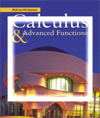 McGraw-Hill Ryerson Calculus & Advanced Functions