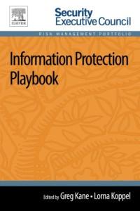 Information Protection Playbook (Risk Management Portfolio)