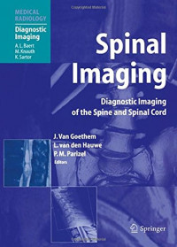 Spinal Imaging: Diagnostic Imaging of the Spine and Spinal Cord (Medical Radiology)
