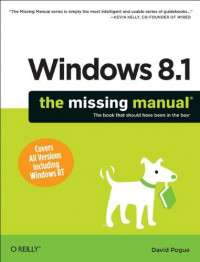 Windows 8.1: The Missing Manual (Missing Manuals)