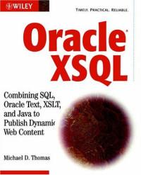 Oracle XSQL