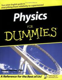 Physics For Dummies (Math & Science)