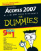 Access 2007 All-in-One Desk Reference For Dummies (Computer/Tech)