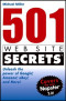 501 Web Site Secrets: Unleash the Power of Google®, Amazon®, eBay® and More