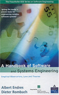 A Handbook of Software and Systems Engineering: Empirical Observations, Laws, and Theories
