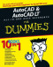 AutoCAD & AutoCAD LT All-in-One Desk Reference For Dummies (Computer/Tech)