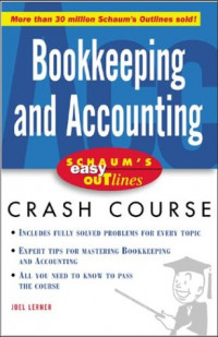 Schaum's Easy Outline Bookkeeping and Accounting