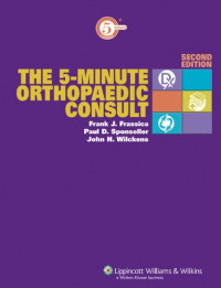 The 5-Minute Orthopaedic Consult (The 5-Minute Consult Series)
