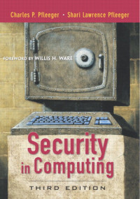 Security in Computing, Third Edition