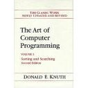 Art of Computer Programming/Sorting and Searching (Computer Science and Information Processing)