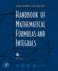 Handbook of Mathematical Formulas and Integrals, Fourth Edition