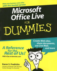 Microsoft Office Live For Dummies (Computer/Tech)