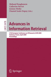 Advances in Information Retrieval: 31th European Conference on IR Research, ECIR 2009, Toulouse, France