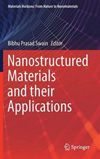 Nanostructured Materials and their Applications (Materials Horizons: From Nature to Nanomaterials)