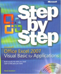 Microsoft  Office Excel  2007 Visual Basic  for Applications Step by Step (BPG-step by Step)
