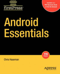 Android Essentials (Firstpress)