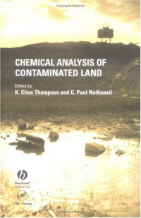 Chemical Analysis of Contaminated Land (Sheffield Analytical Chemistry)