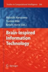 Brain-Inspired Information Technology (Studies in Computational Intelligence)