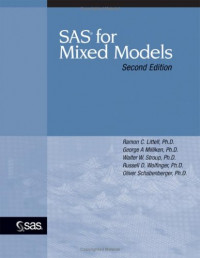 SAS for Mixed Models (Second Edition)
