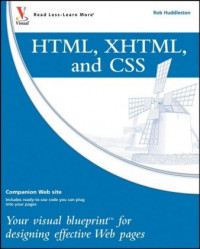 HTML, XHTML, and CSS: Your visual blueprint for designing effective Web pages