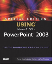 Special Edition Using Microsoft Office PowerPoint 2003