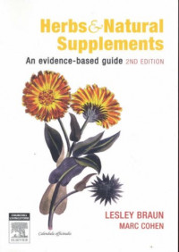 Herbs and Natural Supplements: An Evidence Based Guide