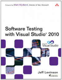 Software Testing with Visual Studio 2010 (Microsoft .NET Development Series)