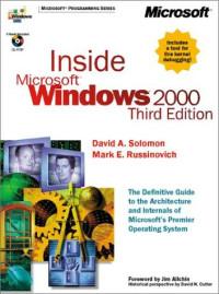 Inside Microsoft Windows 2000, Third Edition