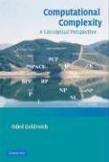 Computational Complexity: A Conceptual Perspective