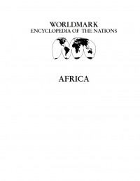 Worldmark Encyclopedia of the Nations, Africa