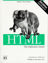 HTML: The Definitive Guide (Nutshell Handbooks)