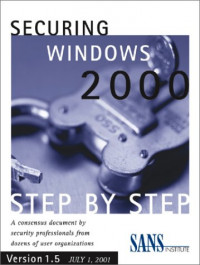 Securing Windows 2000 Step by Step