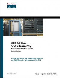 CCIE Self-Study: CCIE Security Exam Certification Guide, Second Edition