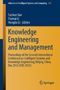 Knowledge Engineering and Management: Proceedings of the Seventh International Conference