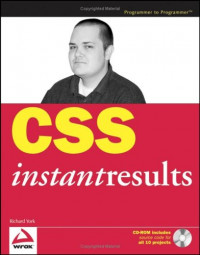 CSS Instant Results (Programmer to Programmer)