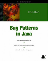 Bug Patterns In Java