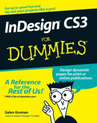 InDesign CS3 For Dummies (Computer/Tech)