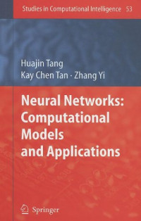 Neural Networks: Computational Models and Applications (Studies in Computational Intelligence)