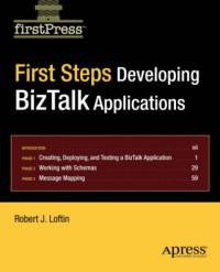 First Steps: Developing BizTalk Applications