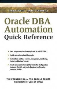 Oracle DBA Scripting Quick Reference
