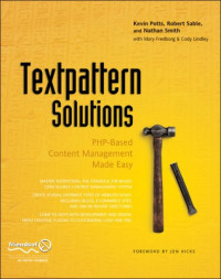 Textpattern Solutions: PHP-Based Content Management Made Easy