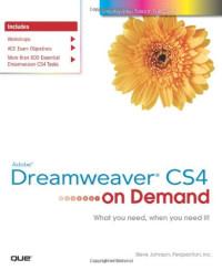 Adobe Dreamweaver CS4 on Demand