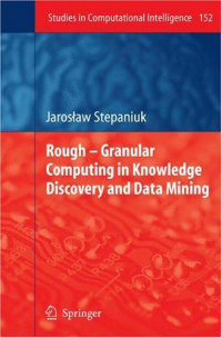 Rough  Granular Computing in Knowledge Discovery and Data Mining (Studies in Computational Intelligence)