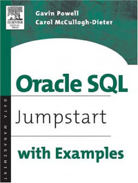 Oracle SQL : Jumpstart with Examples