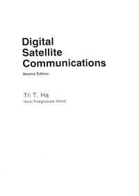 Digital Satellite Communications (Mcgraw-Hill Communications Series)