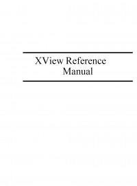 Volume 7A: XView Programming Manual (Definitive Guides to the X Window System)