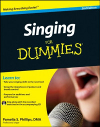 Singing For Dummies (Sports & Hobbies)