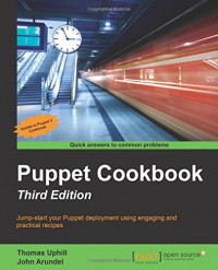 Puppet Cookbook - Third Edition